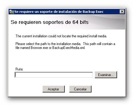 Instalación de licencias en Symantec Backup Exec 2012