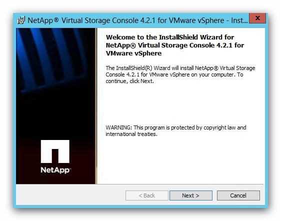 Instalar la NetApp VSC 4.2.1 sobre vSphere 5.5 en Windows 2012