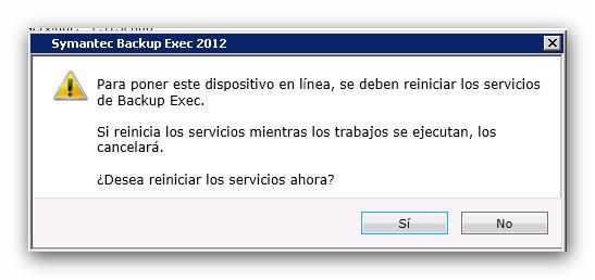 Configuración del protocolo NDMP en una NetApp y conexión con Symantec Backup Exec 2012