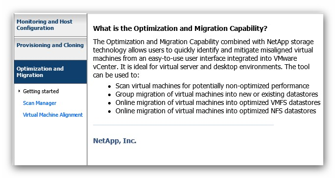 VSC - Optimization and Migration: alineación de particiones en máquinas virtuales VMware