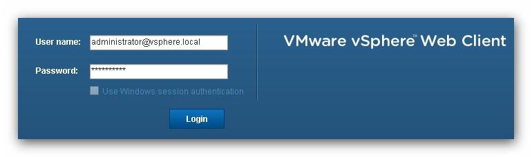 Configurar el acceso a vSphere Web Client 5.5 para usuarios de un dominio Active Directory
