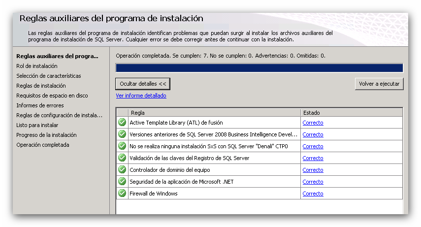 Instalación de System Center Configuration Manager 2012: SQL Server 2012