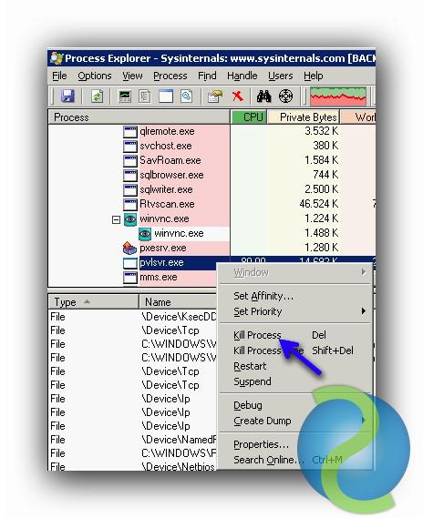 Process Explorer, una herramienta interesante