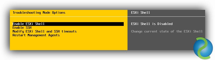 Problema al activar el adaptador iSCSI de un Host ESXi 5.5 Update 1