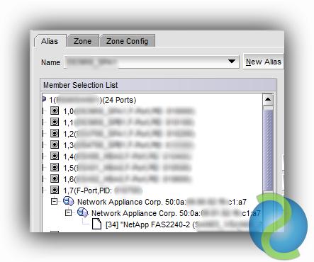 Configurar el Zoning para una red de almacenamiento SAN