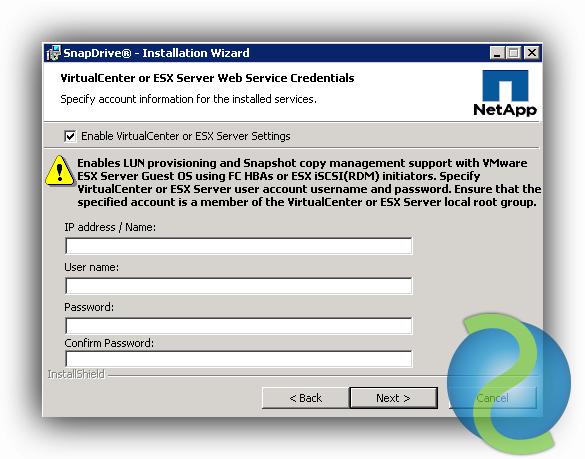 Instalar y configurar NetApp SnapDrive sobre Windows