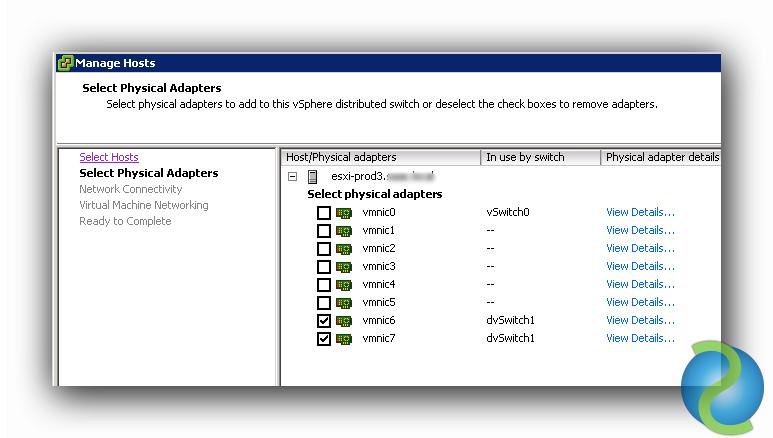 Administrar Distributed vSwitches en VMware vSphere 5.5