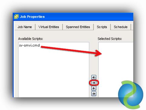 Integrar los backups de SMVI con SnapVault