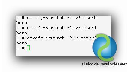 Descubrir puertos Ethernet VMware ESXi en HP ProCurve