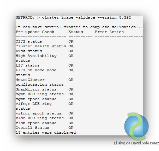 Actualizar Clustered Data ONTAP de NetApp